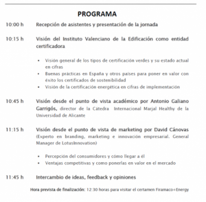Programa sostenibilidad