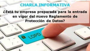 charla proteccion datos