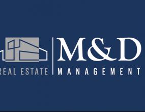 Logo_M&D_fondo_azul